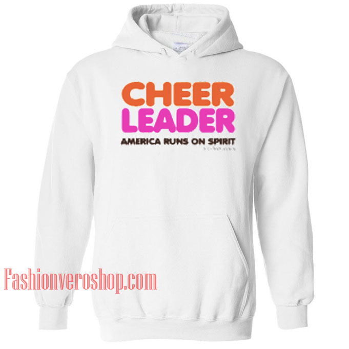 Cheerleader America Ons Spirit HOODIE - Unisex Adult Clothing