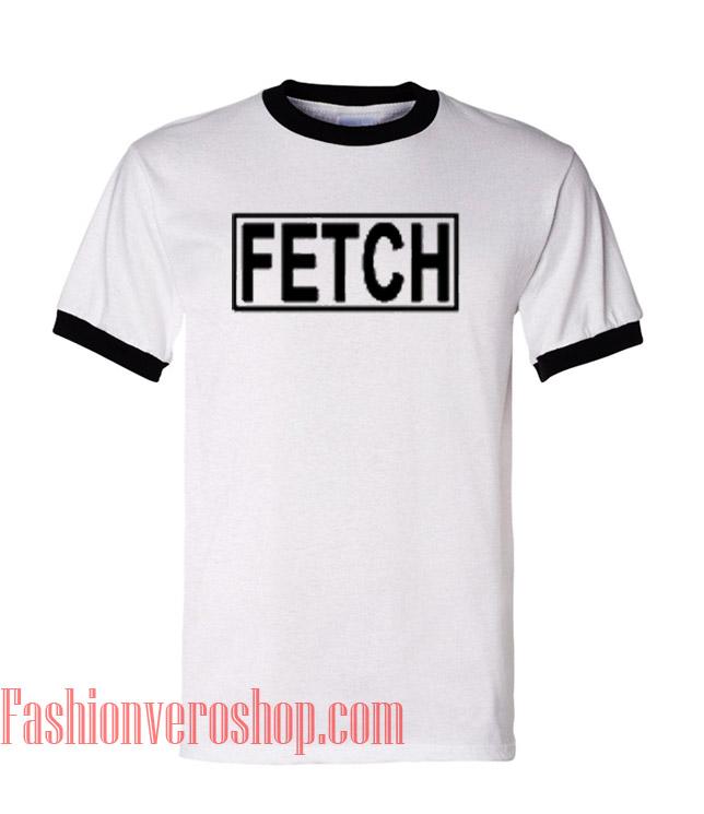 Fetch Ringer Unisex adult T shirt