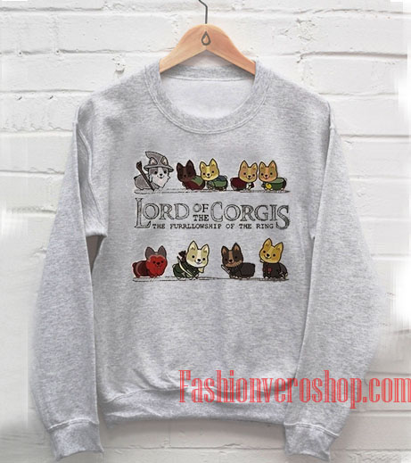 Lord Of The Corgis Sweatshirt