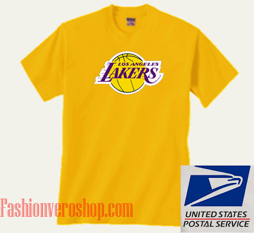 reputable site 282c0 6c4e2 Los Angeles Lakers Unisex adult T shirt
