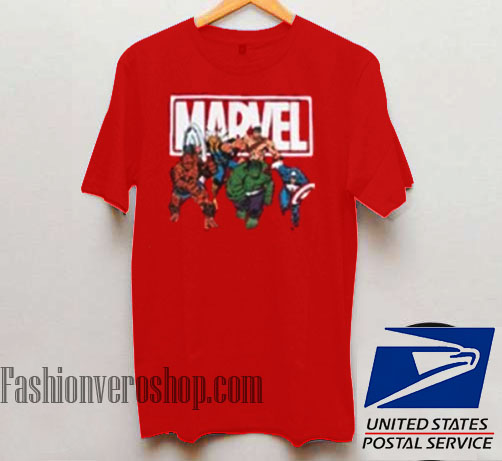 good out x really cheap popular brand Marvel Avengers Unisex adult T shirt
