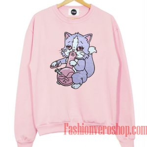 Pastel Bong Cat Sweatshirt