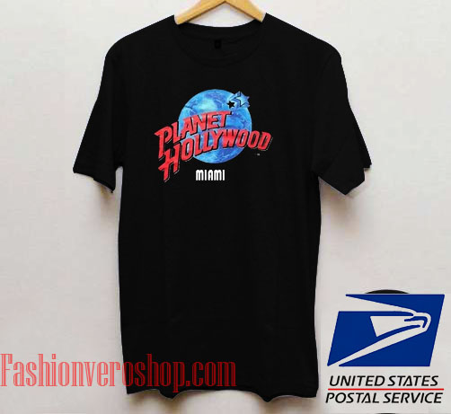 Planet hollywood miami unisex adult t shirt for Planet hollywood t shirt
