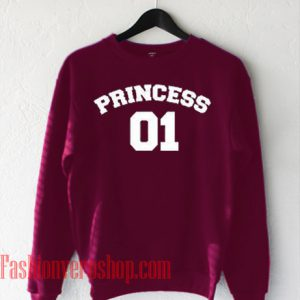 Princess 01 Burgundy Sweatshirt