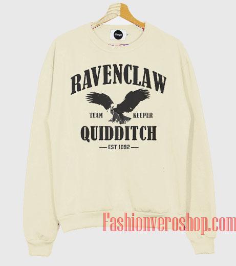 Ravenclaw Quidditch Harry Potter Quidditch Sweatshirt