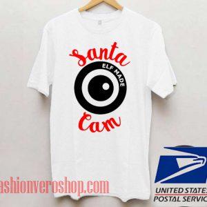 Santa Cam Unisex adult T shirt