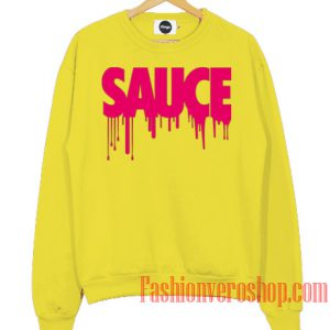 Sauce Avenue Logo Sweatshirt