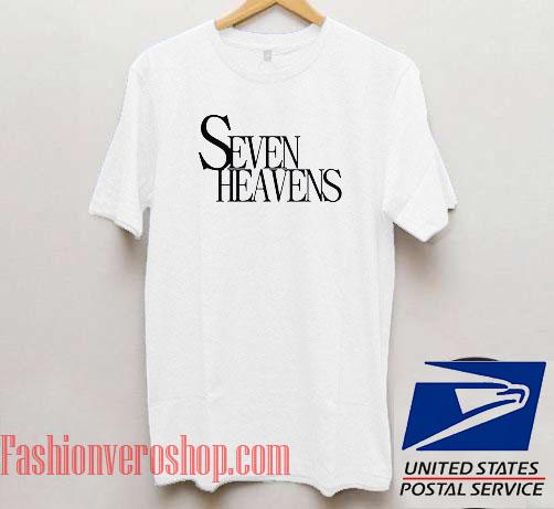 Seven Heavens Unisex adult T shirt