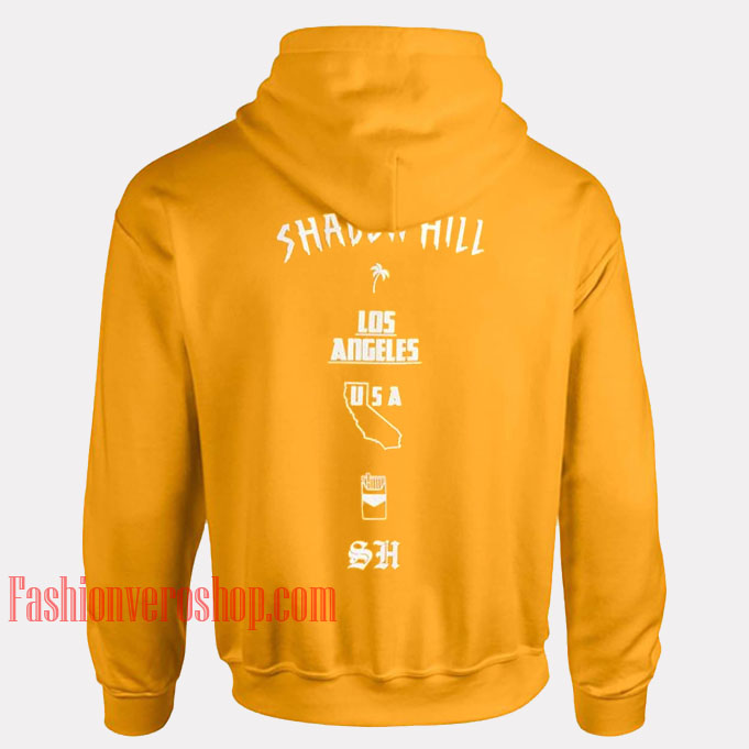 Shadow Hill Los Angeles HOODIE Unisex Adult Clothing