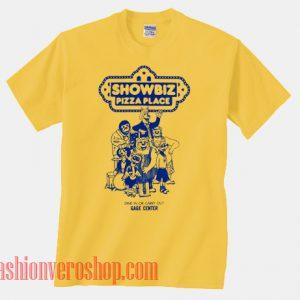 Showbiz Pizza Place Unisex adult T shirt