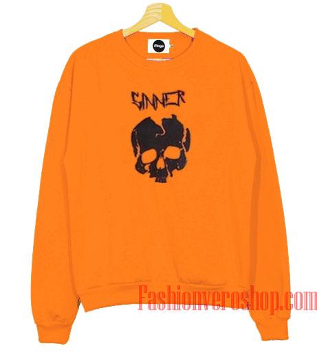 Sinner Head Skeleton Sweatshirt