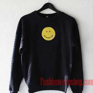 Sit On My Face Smiley Sweatshirt