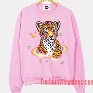 The Leopard Outer Space Sweatshirt