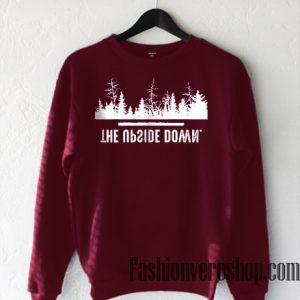 The Upside Down Sweatshirt