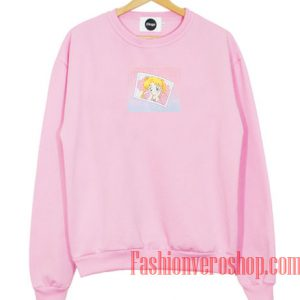 Usagi Sailor Moon Light Pink Sweatshirt