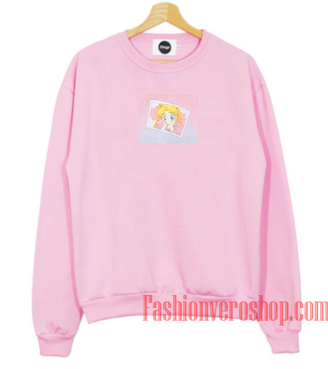 Usagi Sailor Moon Light Pink Sweatshirt