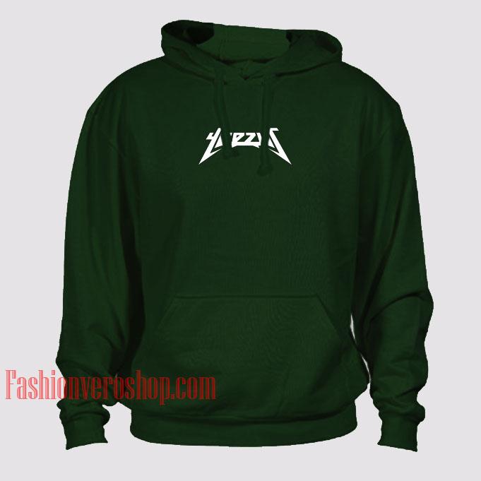 Yeezus Dark Green HOODIE - Unisex Adult Clothing