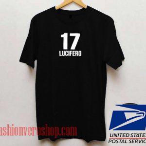 17 Lucifero Unisex adult T shirt