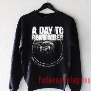 A Day To Remember Tour Sweatshirt
