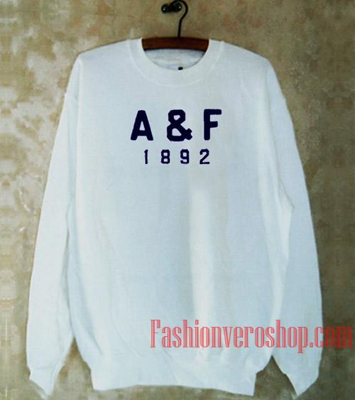 A & F 1892 Sweatshirt