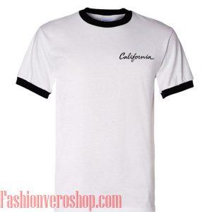 c06ab275 California Ringer Unisex adult T shirt