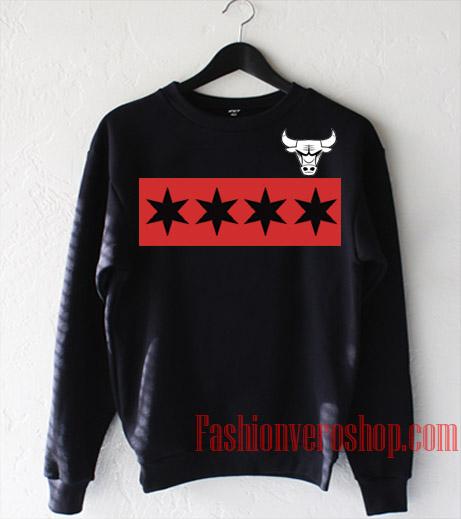 Chicago Bulls Star Line Sweatshirt