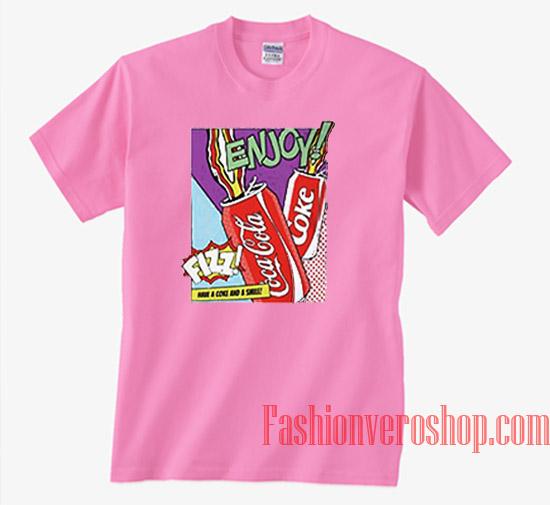 e3a976cf85e0 Coca Cola Have A Coke And Smile Unisex adult T shirt
