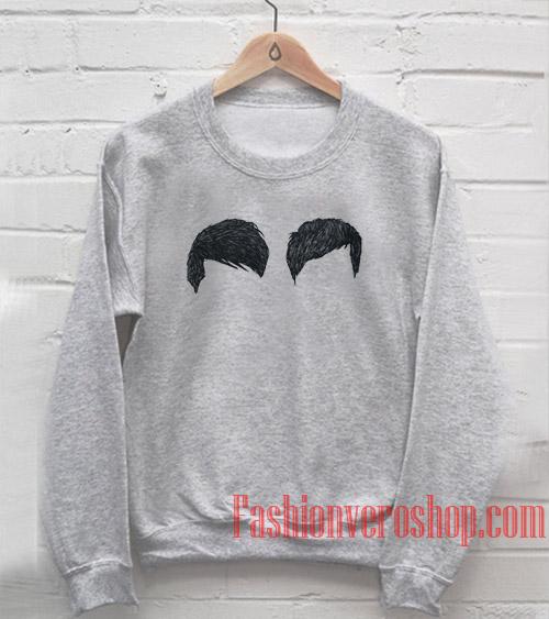 Dan & Phil Hair Sweatshirt