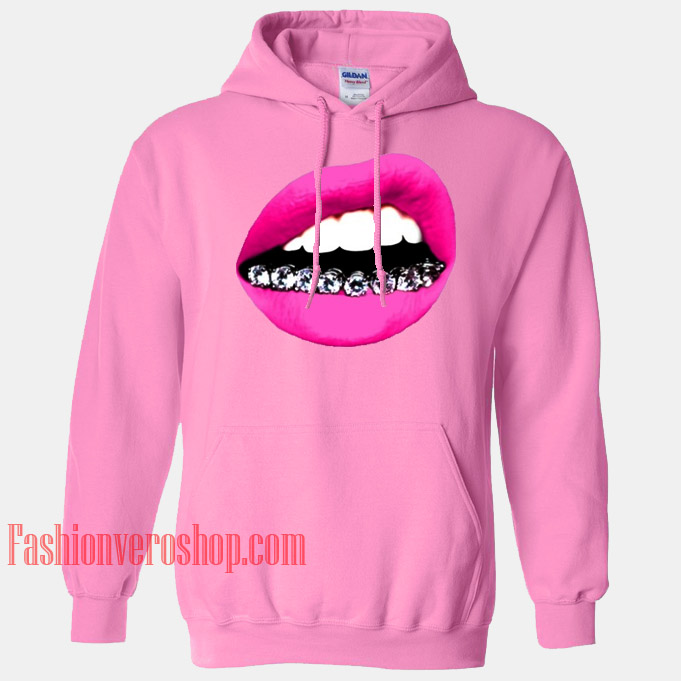 Lips Grill HOODIE - Unisex Adult Clothing