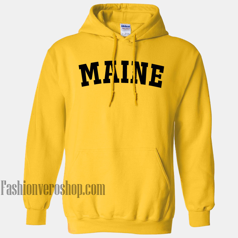 Maine HOODIE - Unisex Adult Clothing