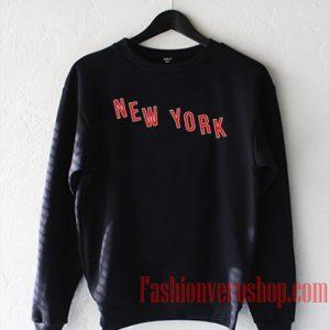 New York City Red Sweatshirt
