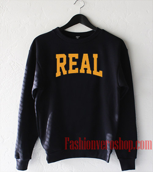 Real Letters Sweatshirt