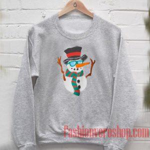 Snowman Christmas Sweatshirt