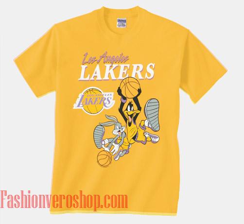 Space Jam Lakers Unisex adult T shirt