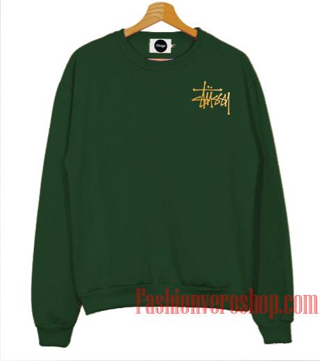 60270470 Stussy Gold Logo Sweatshirt