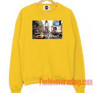 Times Square Portrait Sweatshirt