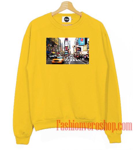 Times Square Portrait Sweatshirt