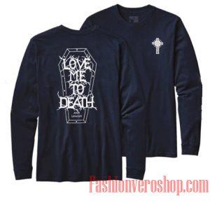 Vetements Love Me To Death Sweatshirt