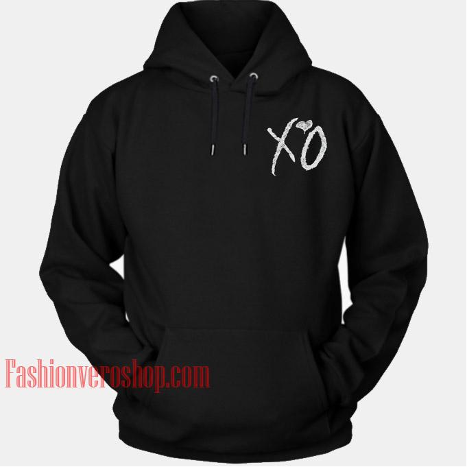 XO Love HOODIE - Unisex Adult Clothing