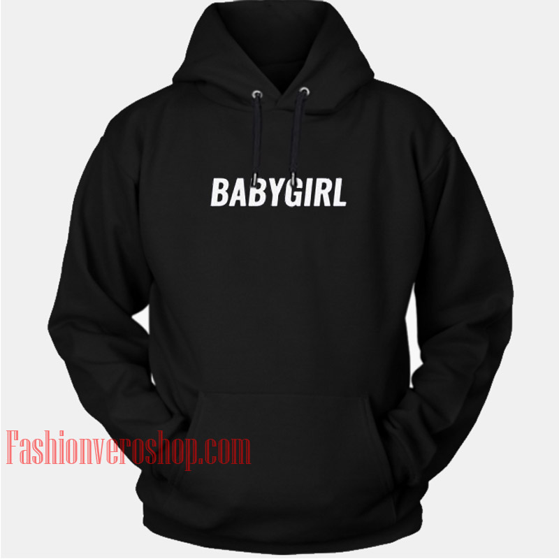 Babygirl Letter HOODIE - Unisex Adult Clothing