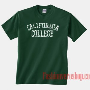 California College Unisex adult T shirt