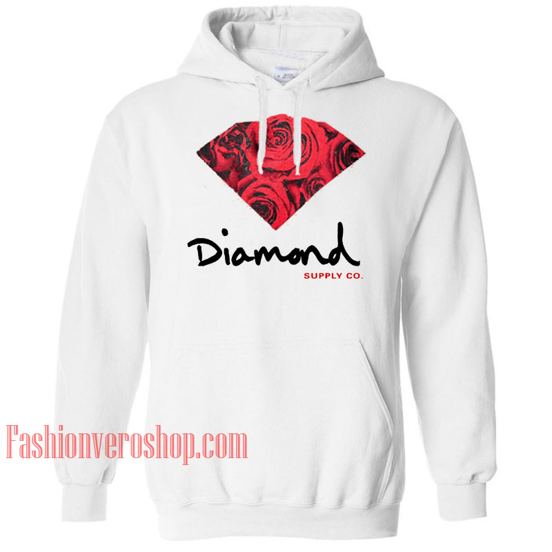 Diamond Rose Supply Co HOODIE - Unisex Adult Clothing