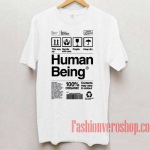 Human Being Unisex adult T shirt