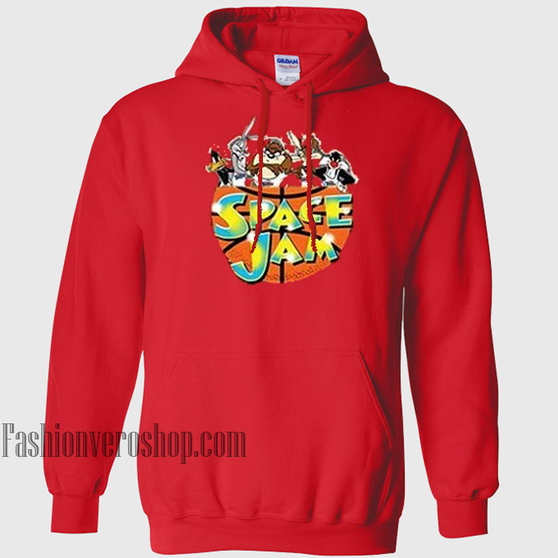 Looney Tunes Space Jam HOODIE - Unisex Adult Clothing