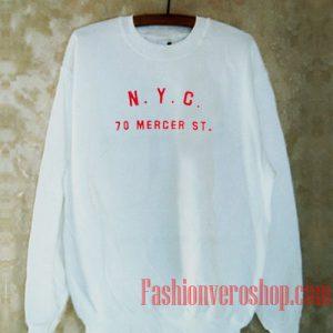 Nyc 70 Mercer St Sweatshirt