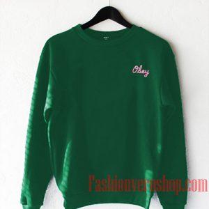 Obey Green Sweatshirt