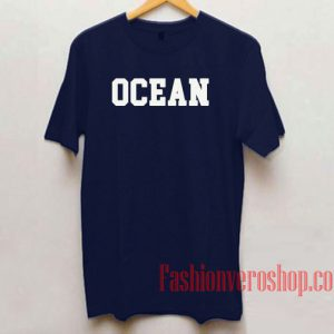 Ocean Navy Unisex adult T shirt