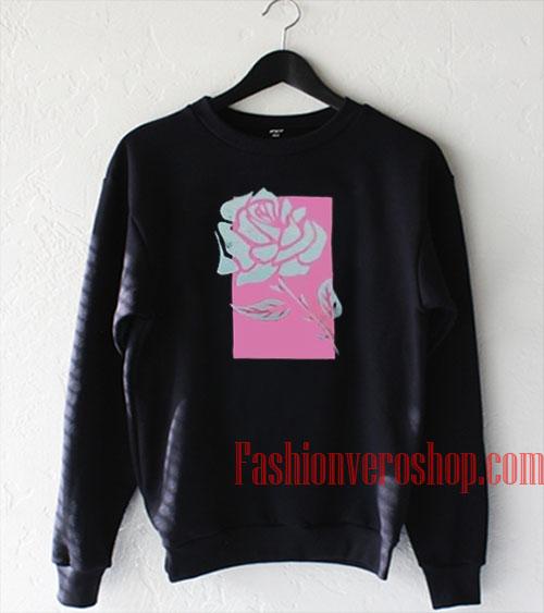 Pink Box Rose Sweatshirt