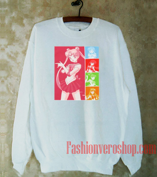 Sailor Moon Sailor Scouts Sweatshirt