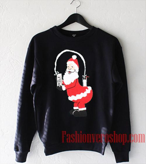 Santa Break the Internet Sweatshirt